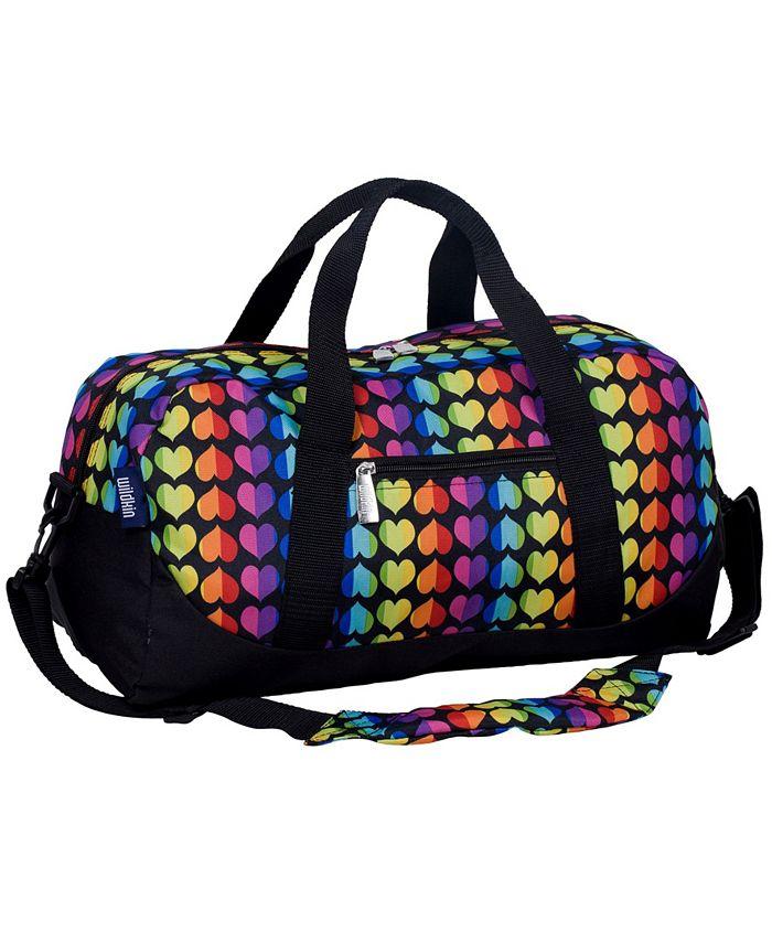 Wildkin - Rainbow Hearts Overnighter Duffel Bag
