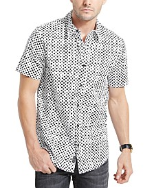 GUESS Men's Luxe Checkered Shirt