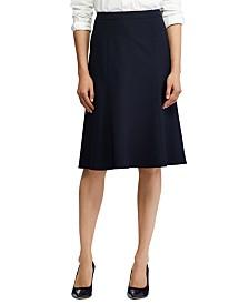 Lauren Ralph Lauren Stretch-Knit Fit & Flare Skirt