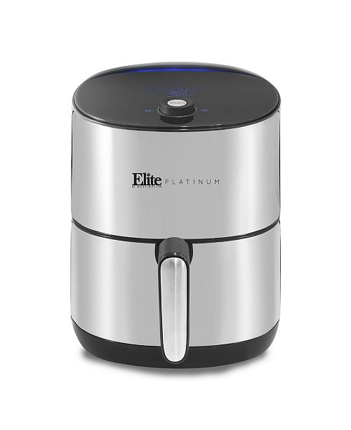 Elite Platinum 4.5qt Stainless Steel Digital Air Fryer