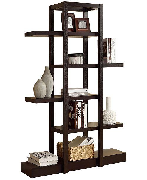 "Monarch Specialties 71"" H Bookcase, Etagere"