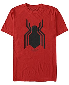 Men's Spider-Man Homecoming Spider-Man Logo Short Sleeve T-Shirt