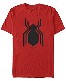 Marvel Men's Spider-Man Homecoming Spider-Man Logo Short Sleeve T-Shirt