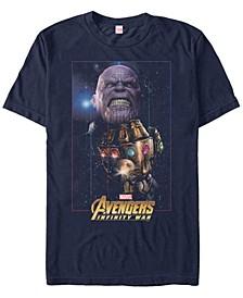 Men's Avengers Infinity War Thanos Fierce Power Of The Gauntlet Short Sleeve T-Shirt
