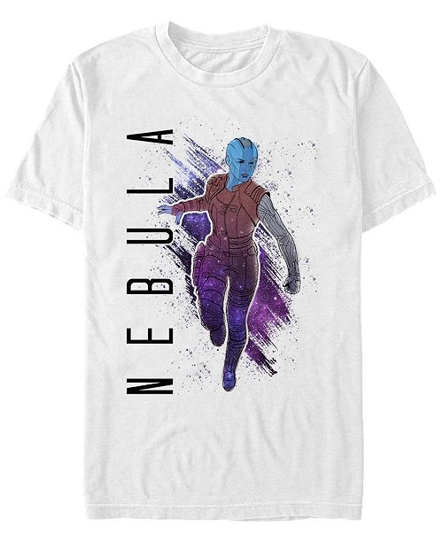 Marvel Men's Guardians of the Galaxy Painted Nebula Short Sleeve T-Shirt