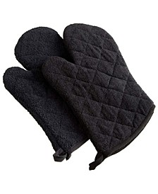 Terry Oven Mitt, Set of 2