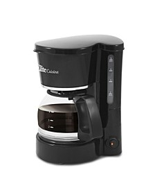 Elite Cuisine 5 Cup Coffeemaker with Pause and Serve