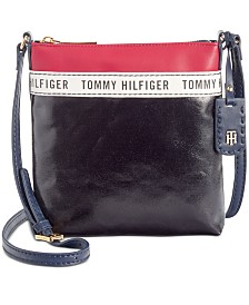 Tommy Hilfiger Julia Coated Canvas Crossbody