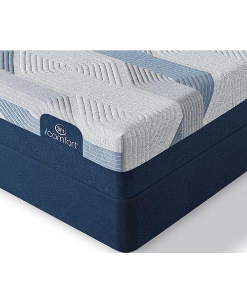 Serta i-Comfort by BLUE 300CT 11'' Plush Mattress Set- Queen