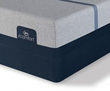 i-Comfort by Serta BLUE Max 3000 13.5'' Elite Luxury Firm Mattress Set- Queen Split