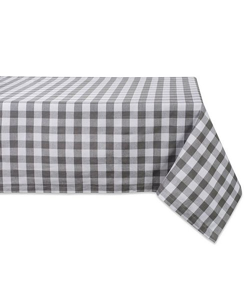 "Design Import Checkers Table Cloth 52"" x 52"""