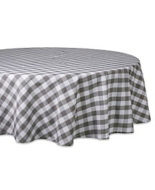 "Design Imports Checkers Table Cloth 70"" Round"