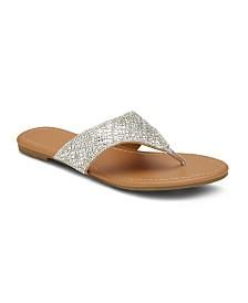 Olivia Miller NY Minute Embellished Sandals