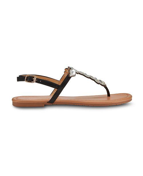 Olivia Miller Charmed Embellished Sandals