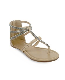 Olivia Miller Atlantic Multi Rhinestone Sandals