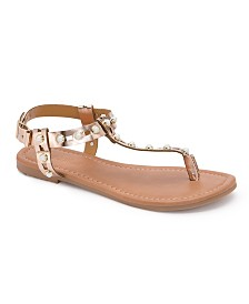 Olivia Miller Avon Multi Pearl Sandals
