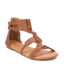 Pinecrest Dual Buckle Strap Sandals