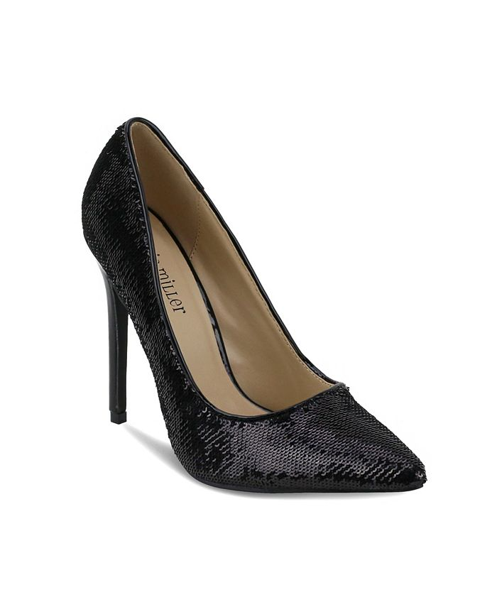 Olivia Miller - Levittown All Over Sequin High Heel Pumps