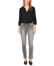 Sheri Tummy-Control Slim-Leg Jeans