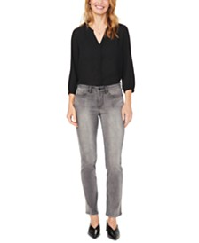 NYDJ Sheri Tummy-Control Slim-Leg Jeans