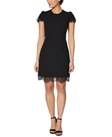 Betsey Johnson Petite Embellished Sheath Dress