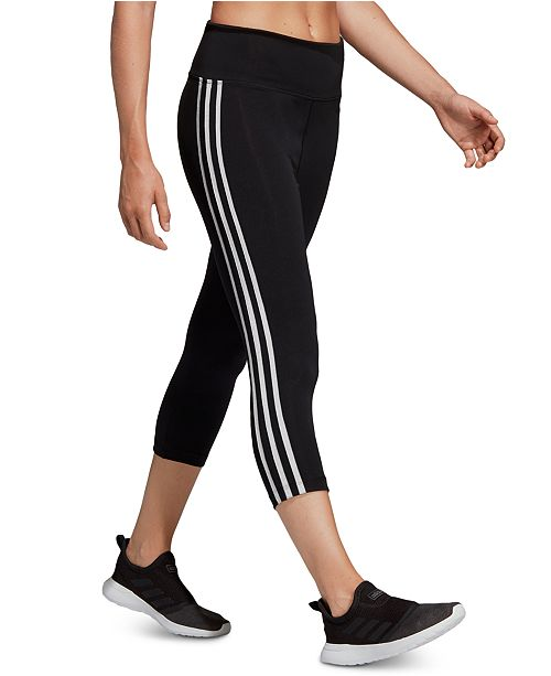 adidas Women's Design 2 Move ClimaLite® High-Rise Cropped Leggings
