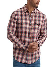 Men's Snap Flannel Shirt