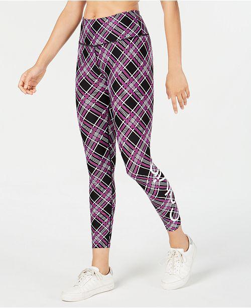 Calvin Klein Plaid Logo Leggings