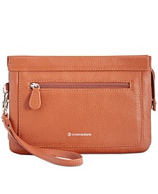 Softy Leather Crossbody Wallet, Created for Macy's