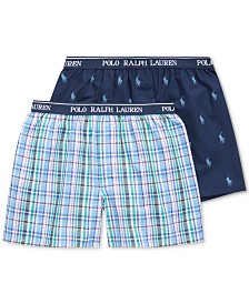 Polo Ralph Lauren Men's 2pk. Woven Boxers