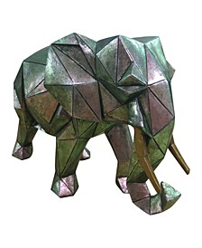 Cubist Elephant