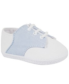 Baby Deer Baby Boy Broadcloth Saddle Oxford