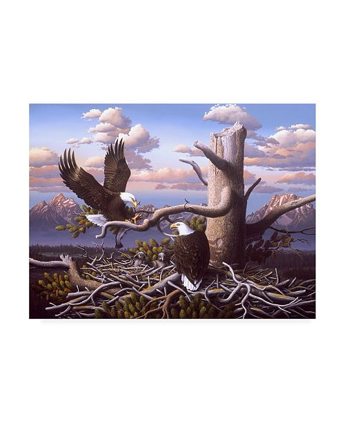 "Trademark Global R W Hedge Raising Freedom Canvas Art - 36.5"" x 48"""