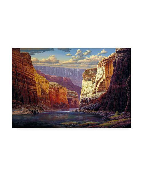 "Trademark Global R W Hedge The Gallery Merge Canvas Art - 27"" x 33.5"""