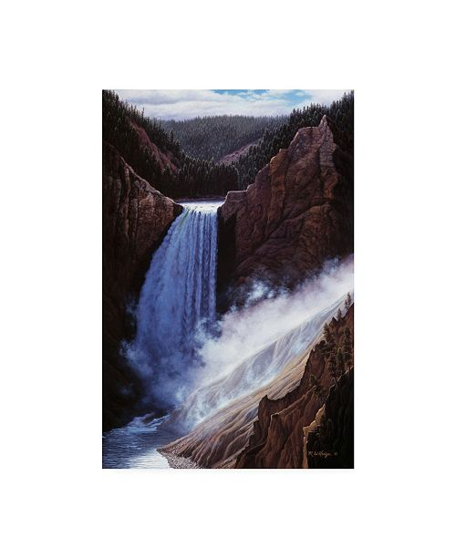 """Trademark Global R W Hedge The Voice of Yellowstone Canvas Art - 36.5"""" x 48"""""""