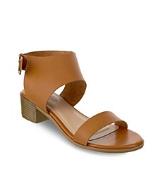 Cocoa Chunky Heel Buckle Sandals