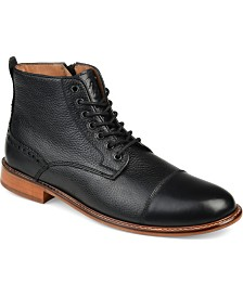 Thomas & Vine Men's Malcom Cap Toe Ankle Boots
