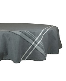 "French Chambray Tablecloth 70"" Round"