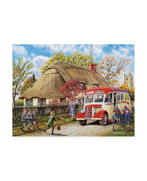 "Trademark Global Trevor Mitchell Autumn Term Canvas Art - 19.5"" x 26"""