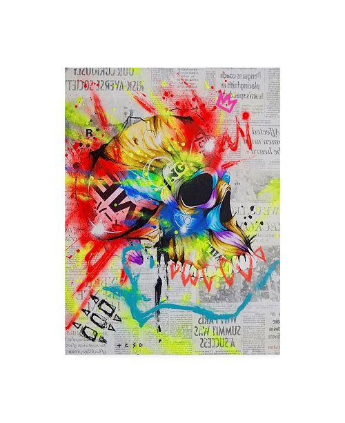 "Trademark Global Taka Sudo Fall 2 Canvas Art - 19.5"" x 26"""