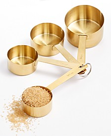Harvest Gold-Tone Measuring Cups, Set of 4, Created for Macy's