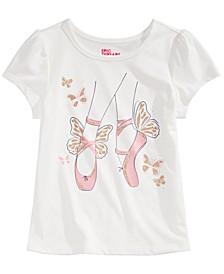 Toddler Girls Ballet Slippers T-Shirt, Created for Macy's