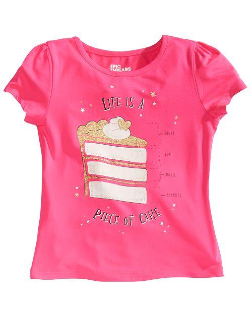 Epic Threads Toddler Girls Cake Slice T-Shirt, Created for Macy's