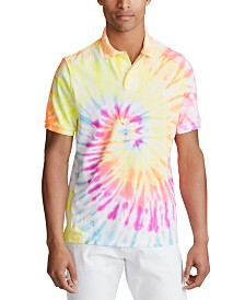 Polo Ralph Lauren Men's Tie-Dye Knit Polo Shirt