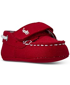 Polo Ralph Lauren Baby Boys Sander EZ Stay-Put Closure Crib Booties from Finish Line