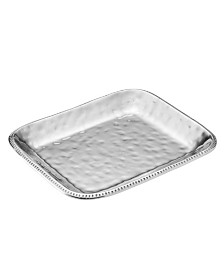 Wilton Armetale River Rock Large Rectangular Tray