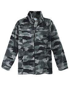 Columbia Big Boys Zing III Camo-Print Fleece Jacket