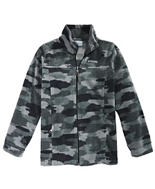 Columbia Big Boys Zing III Camo-Print Fleece Jacket