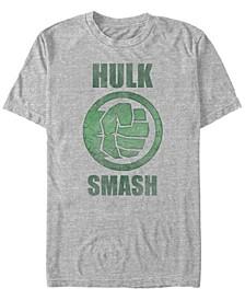 Men's Comic Collection Classic The Hulk Smash Short Sleeve T-Shirt