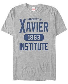Marvel Men's Comic Collection Property of Xavier Short Sleeve T-Shirt